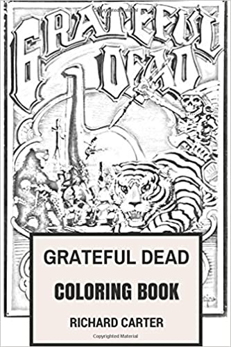 Amazon Com Grateful Dead Coloring Book Californian Rock Band