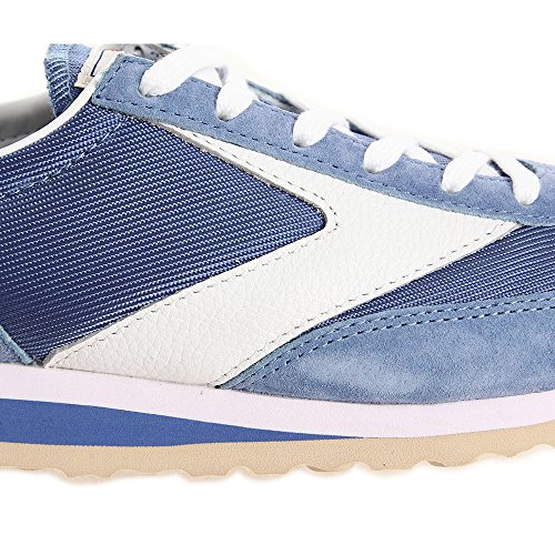 Brooks Vanguard Damen Round Toe Synthetik Laufschuh Denim Blue