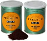 Premium Organic Ground Coffee - 100% Arabica Spanish Espresso Blend from Award Winning Café Saula 500g (2x 250g)