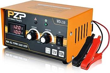 OKF PZP 0-10A 12V Adjustable Smart Battery Charger