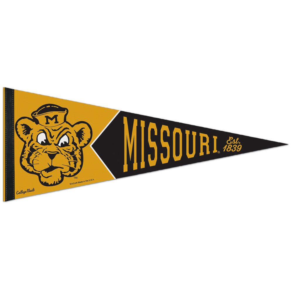 Missouri Tigers College Vault and Throwbackペナント   B06XGXYP6L