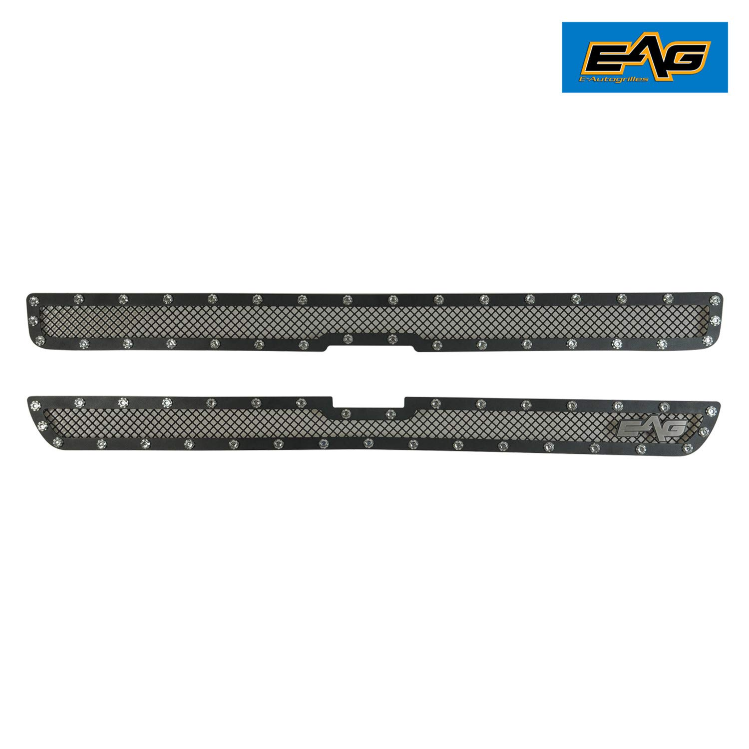 Grilles EAG Rivet Stainless Steel Wire Mesh Grille for 99-02 Chevy ...