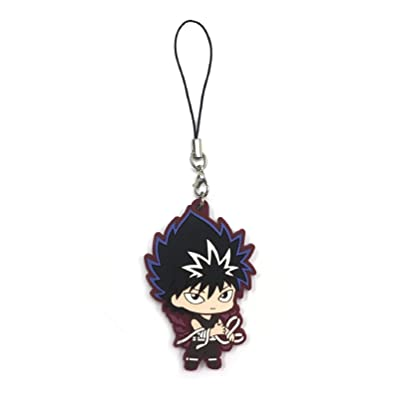 Yu Yu Hakusho: Hiei PVC Keychain ~ Hiei Master of The Evil Eye: Toys & Games