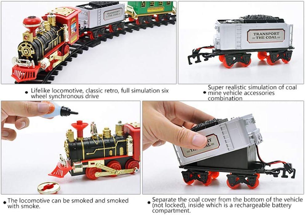 Hearthrousy Spielzeug Zug für Kinder Elektrisches