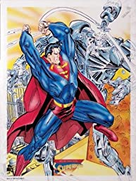 Superman Litho Print Sold Out Edition DC Comics #4