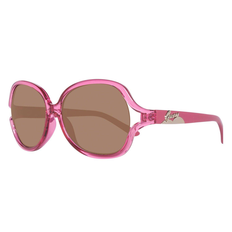 Guess Sunglasses Gafas de Sol T127-PNK1 (53 mm) Rosa: Amazon ...