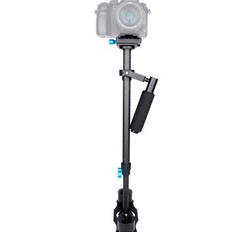 IDS 手持ちカーボンファイバー写真スタビライザー ブラック   B07HHMJZ58