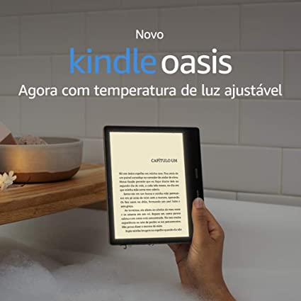 Kindle Oasis 32GB - Agora com temperatura