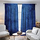 interesting contemporary closet design Navy BlueBlackout DrapesMartian Alien Skin Like Dark Blue Contemporary Interesting Space Design Art PrintDarkening Blackout Curtain W84 x L96 Dark Blue