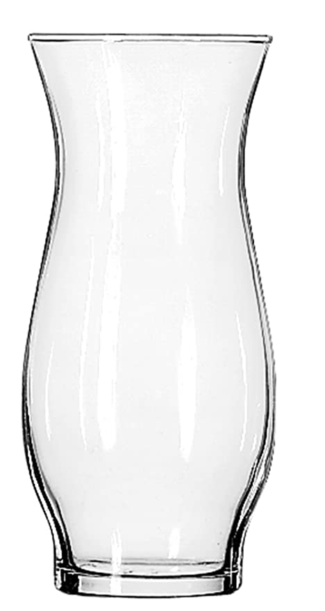 Amazon Libbey Hurricane Vase 6 12 Inch Clear Set Of 6 Home