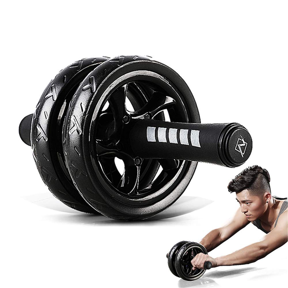 Exercise Equipment Home Fitness Equipment Double Wheel Abdominal Power Wheel Ab Roller Gym Roller Trainer Training