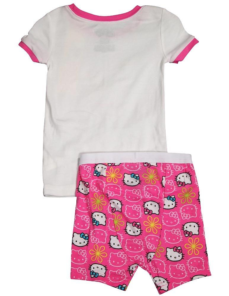 e00543888 Hello Kitty - Baby Girls Short Sleeve Hello Kitty Shorty Pajamas ...
