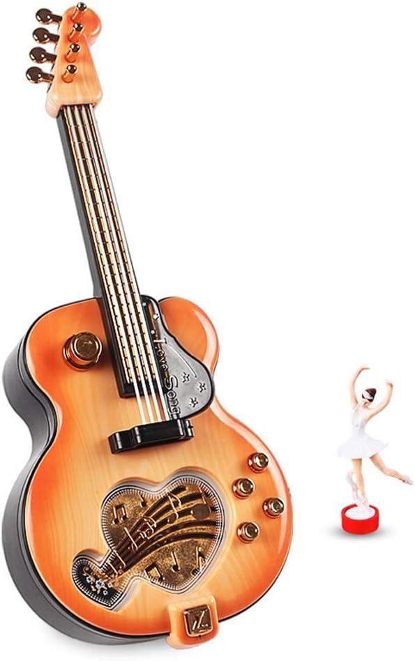 Cajas Musicales Moda romántica clásica de la Guitarra del Ballet ...