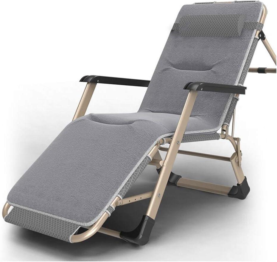 Cama Plegable reclinable Siesta Cama sofá Silla Plegable Oficina Siesta Solo portátil