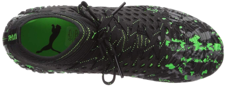 PUMA Unisex Future 19.1 Netfit FG/AG JR Sneaker, Black-Charcoal Gray-Green Gecko, 5 M US Big Kid by PUMA (Image #8)