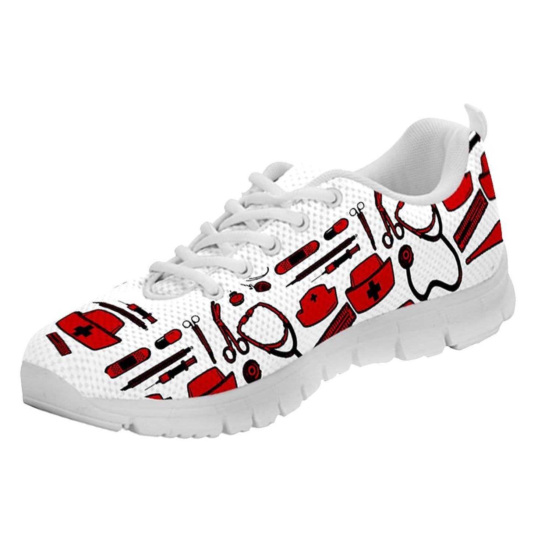 Nurse Sneakers for Men by Printed Kicks B0757LXWPH 41 M EU