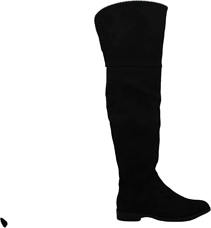 Xoxo Womens Tristen Suede Almond Toe Knee High Fashion Boots