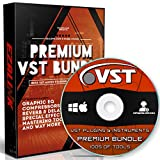 VST Audio Plugins Software & Virtual Instruments Bundle for Windows FL Studio & MAC | DAW Ozone Native Synth Music Effects Drum Guitar Piano Compressor Vocal & More DVD
