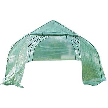 DXP Invernadero caseta Túnel para Jardín Terraza Cultivo Plantas Tomates Verduras 600 x 300 x 200 cm EHF06: Amazon.es: Jardín