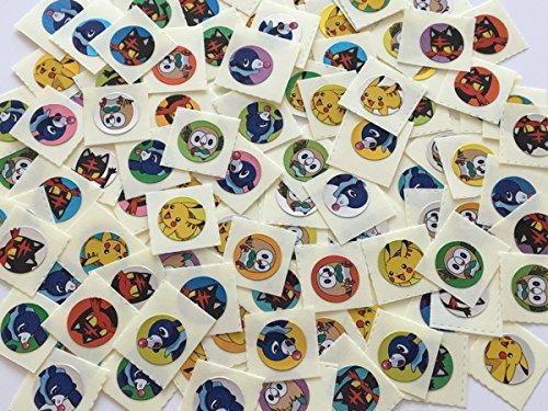 ポケットモンスター サン ムーン ごほうびシール ミニ 100枚 ピカチュウ アシマリ モクロニャビーの商品画像