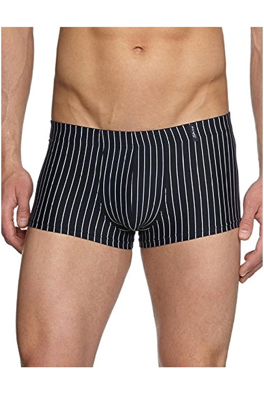 Skiny Power Line Boxer Pants 4er Pack black striped S bis 2XL