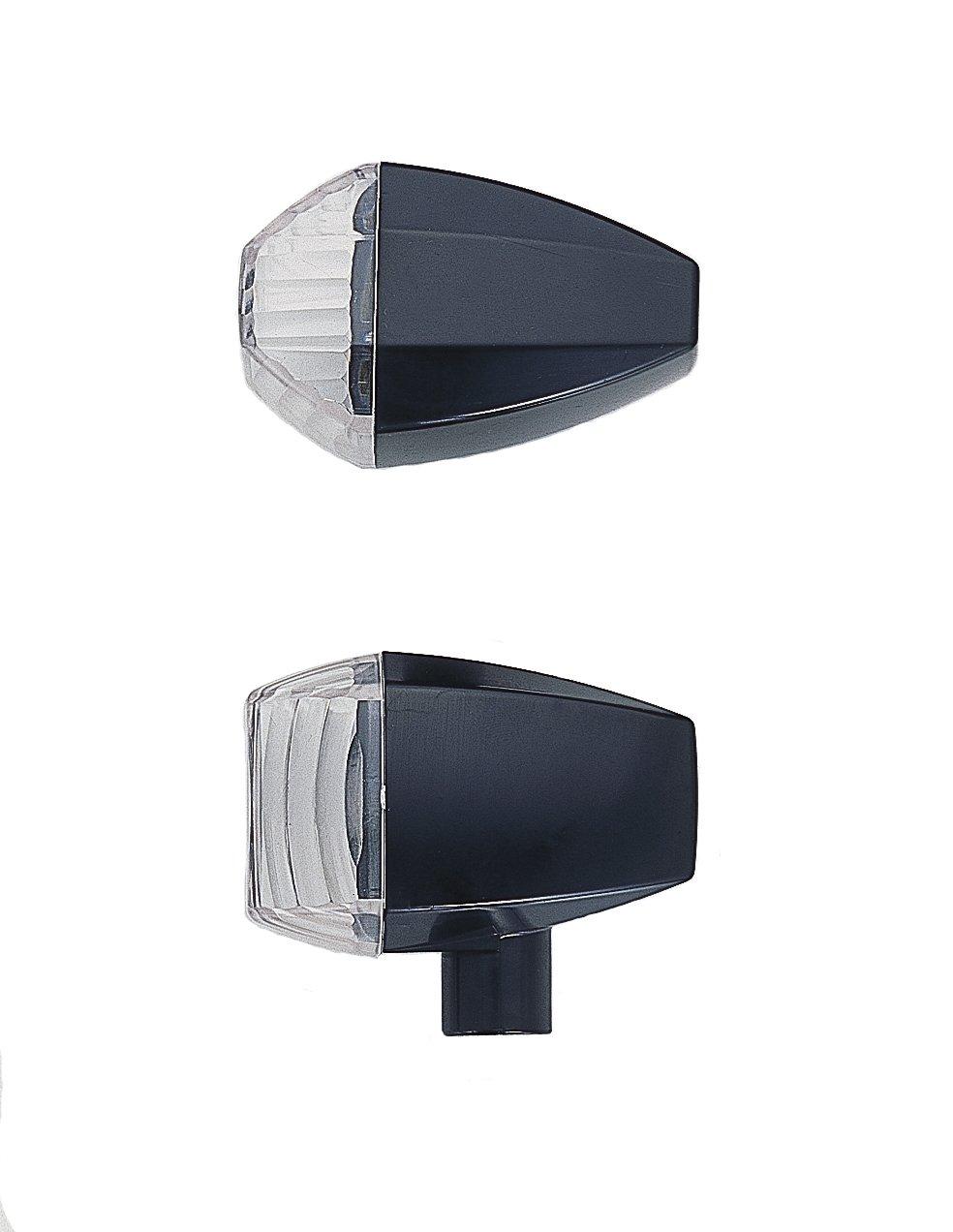 ポッシュ(POSH) バイク用LEDウインカー ZRX1200R('01-'03) ブラックボディ/クリアーレンズ ZRクリスタルカットレンズタイプ 071566-06 B005IE5UI0