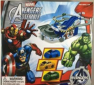 Amazon Com Marvel Avengers Assemble Electric Racing Cars