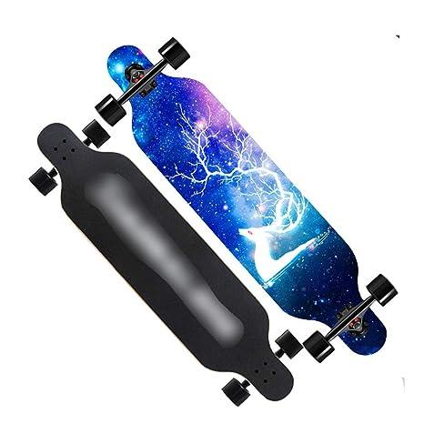 Aire libre y deportes Patinetes Skateboard tabla larga ...