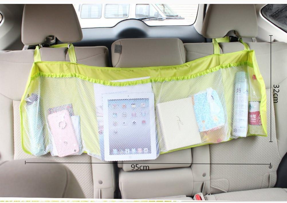 Winomo Kofferraum Organizer Mit Klett Auto Aufbewahrungstasche Suv Kofferraumtasche Multi Tasche Autositz Lagerung Grün Auto