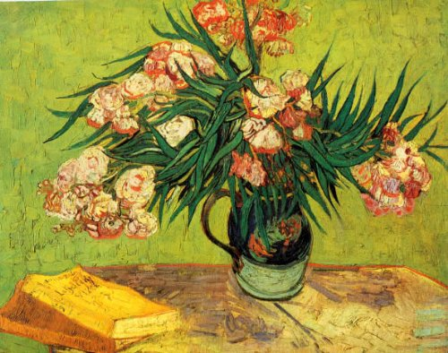 OLEANDERS FLOWERS BY VINCENT VAN GOGH POSTER -