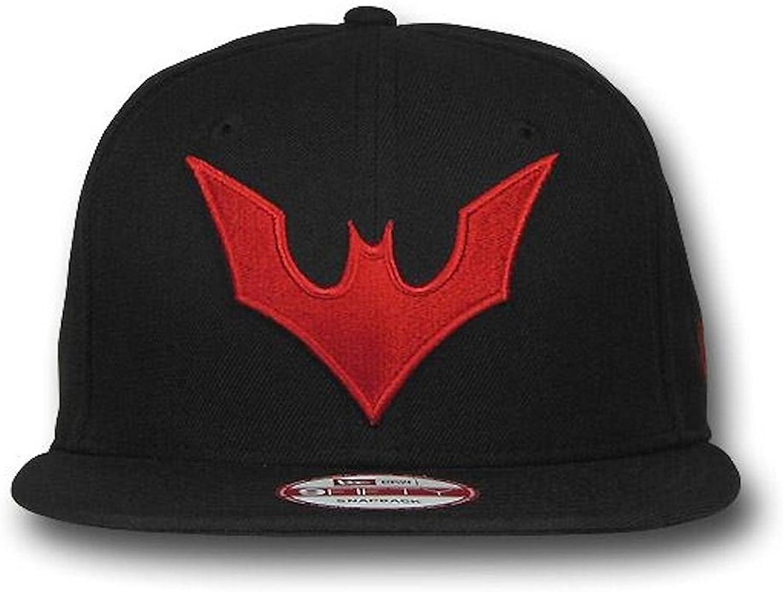 Batman más allá de símbolo 9 Fifty Gorra Plana, Color Negro ...
