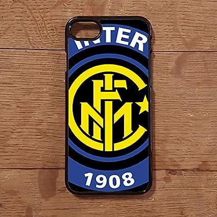 Lovelytiles Inter Internazionale Cover Calcio Serie A iPhone Apple Smartphone (iPhone 7 Plus)