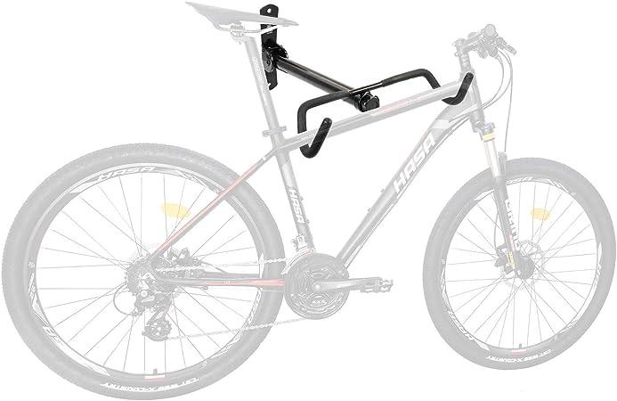 1PCS Ganchos Bicicletas Pared Soporte de Pared para Bicicletas Negro con Hoja de Protecci/ón de Neum/áticos y Tornillos