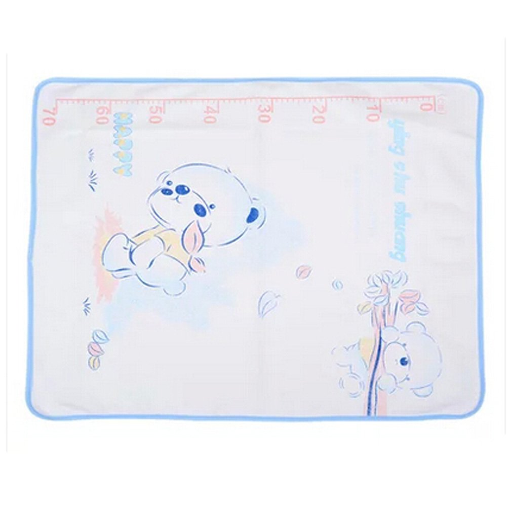 Lovely Baby Reusable Waterproof Infant Home Travel Urine Pad Cover(white