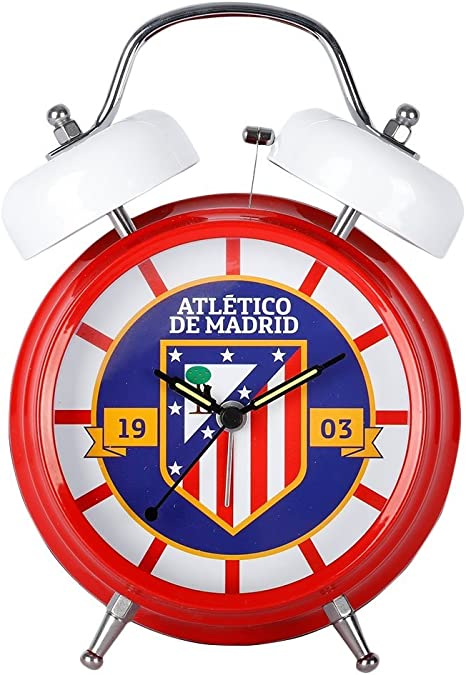 CYP Imports DM-04-ATL Despertador Musical, diseño Atletico De Madrid: Amazon.es: Hogar