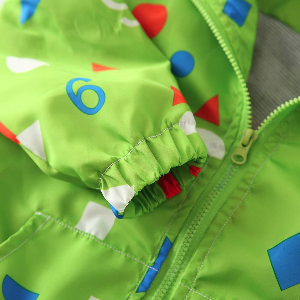 sunnymi Baby Mantel Herbst Jacke Oberbekleidung Dinosaurier Hoodie Windbreaker F/ür 1-6 Jahre