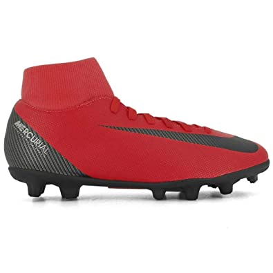 9b8212615d44 Nike Mercurial Superfly 6 Club CR7 MG Soccer Cleat (Bright Crimson) (Men s  6.5