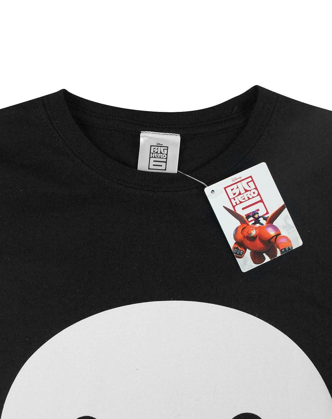 02e7f7f59 Amazon.com: Official Big Hero 6 Baymax Face Women's T-Shirt: Clothing