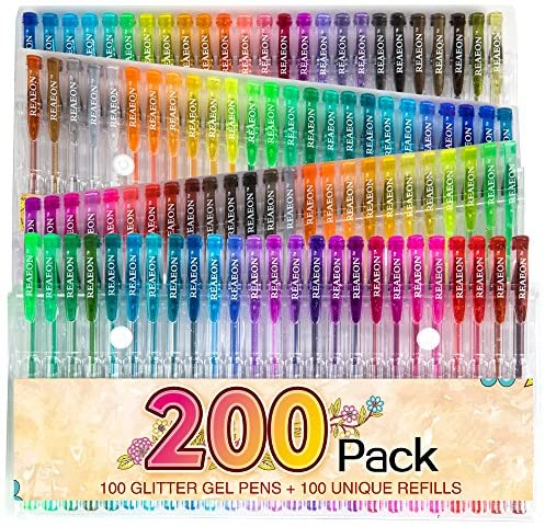 Glitter Markers Coloring Doodling Highlighter product image