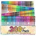 Reaeon 200 Glitter Gel Pen Set