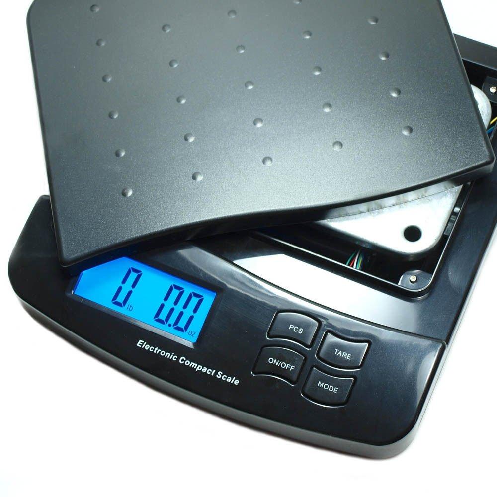 Amazon.com : 55 Lb X 0.1 Oz Digital Postal Shipping Scale V2 Weight ...