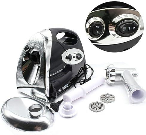 YIYIBY Picadora de carne eléctrica 2800W Trituradora, set profesional para embutir salchichas, multifunción, robot de cocina con cuchillas de acero inoxidable, Maquina Salchicha: Amazon.es: Hogar