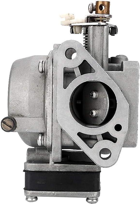 Akozon Carburador Carburador Accesorios para coche Carburador de repuesto Carb Fit para 2 tiempos 6HP 8HP fueraborda