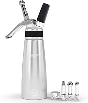 Pura Vida Stainless Steel Whipped Cream Dispenser