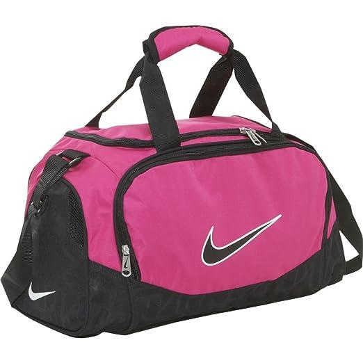 0baae9955b Amazon.com  Nike Brasilia 5 X-Small Duffel Gym Bag Spark Black Size ...