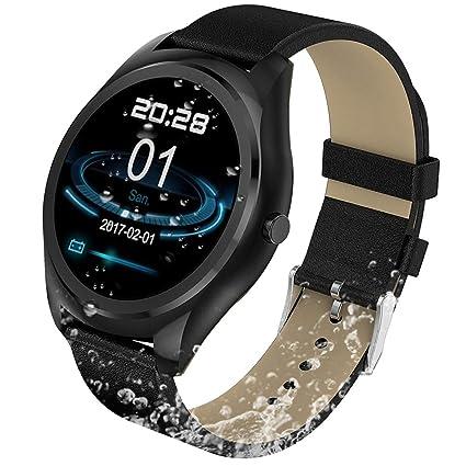Amazon.com: LXJTT Reloj inteligente de 1,3 pulgadas MTK2502 ...