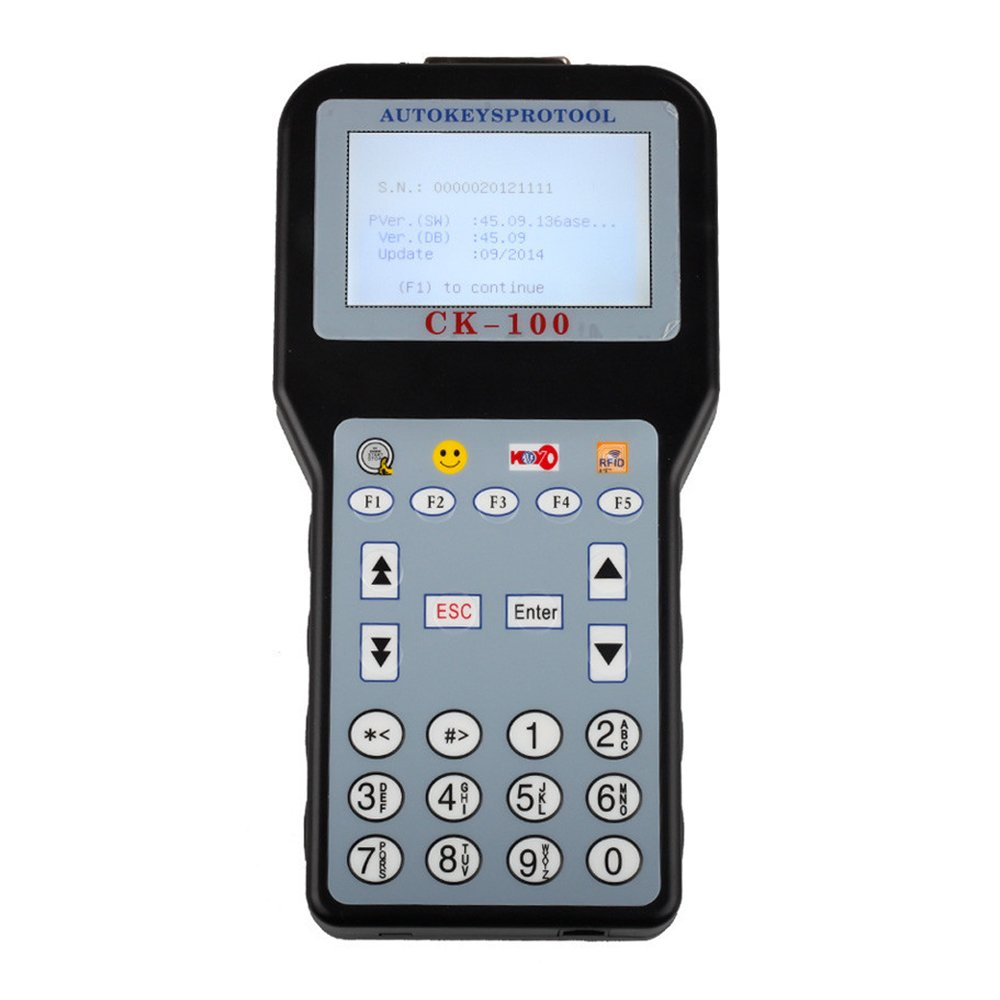 Borison CK-100 Car Key Programmer with Latest Software V99.99 Support Toyota G Chip by Borison (Image #1)
