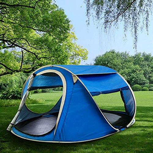 Pop-Up-Tent-by-DEVAISE-Automatic-and-Instant- & Pop Up Tent by DEVAISE-Automatic and Instant Setup-Waterproof and ...