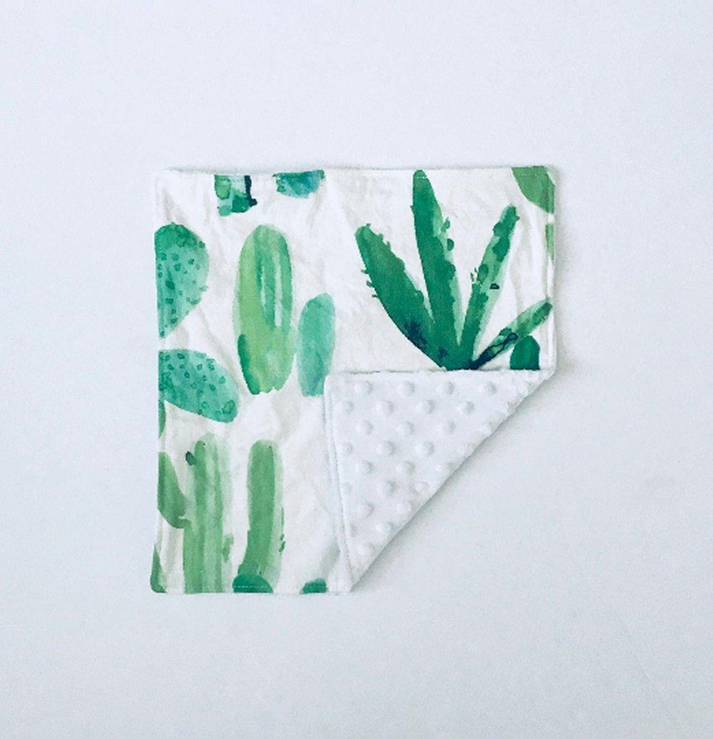 Minky Lovey ~ Cactus