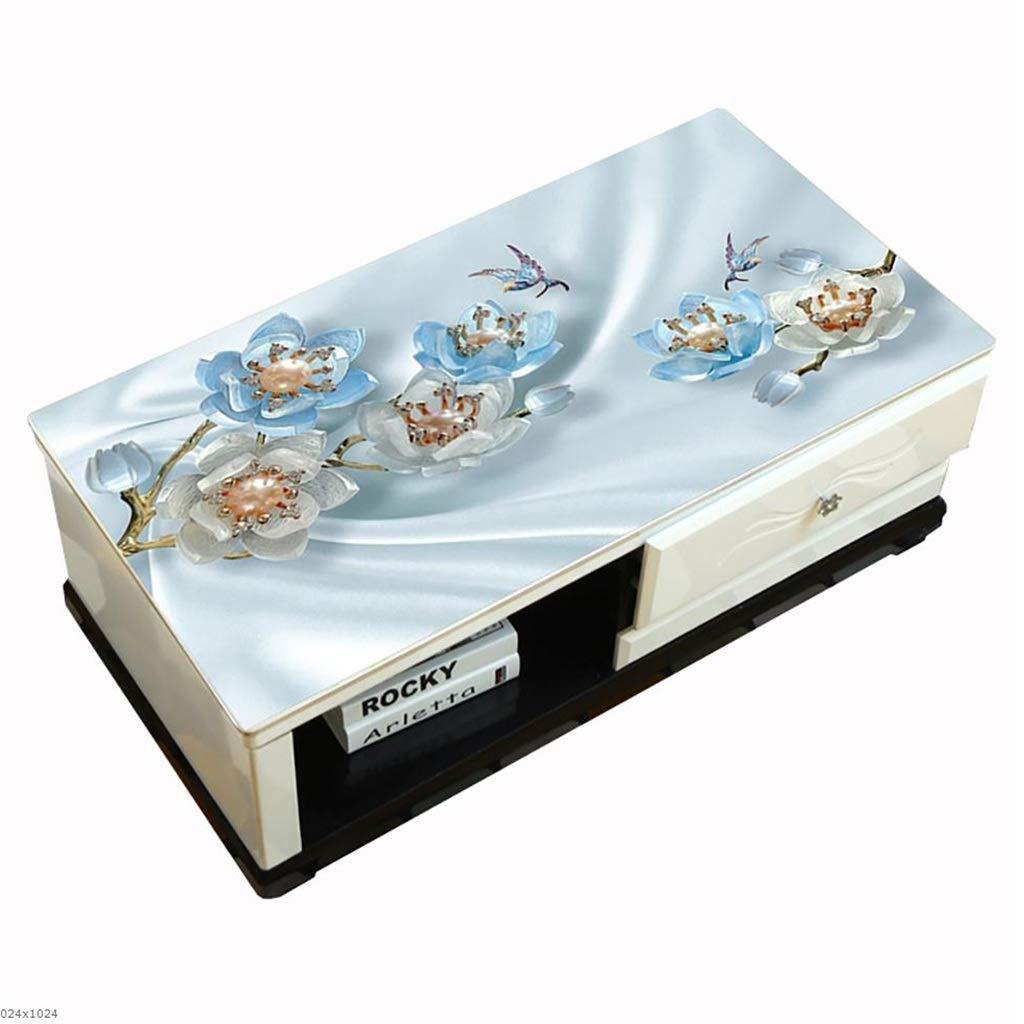 Hongsebuyi Tischdecke PVC Transparent Weichplastik Tischdecke Antifouling Anti-Verbrühung Tee Tischdecke Kaffee Tischdecke Dicke 1,5 MM (größe   80×135 cm) B07M9YQWWB Tischdecken Mangelware  | Auf Verkauf